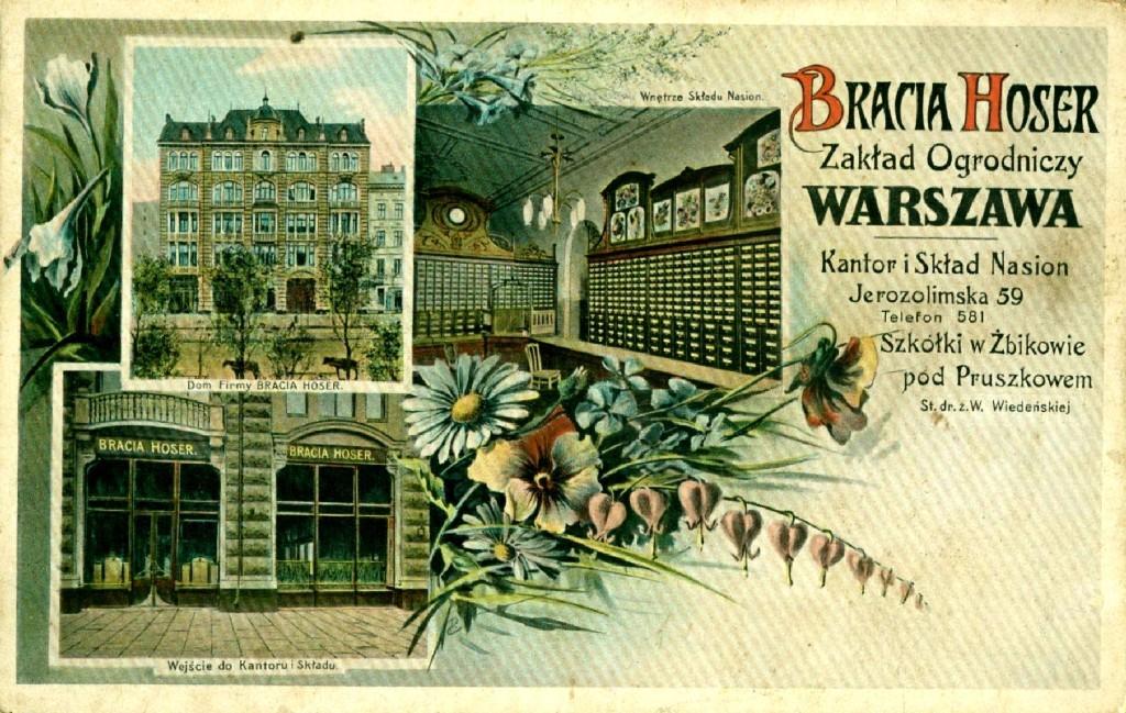 pocztówka firmowa