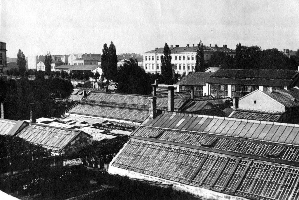 widok na szkalrnie w Alejach Jerozolimskich